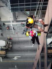 Drop Zone for Easter Seals - Toronto, Canada