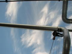 rope access on pipe work