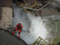 rope access on vessel