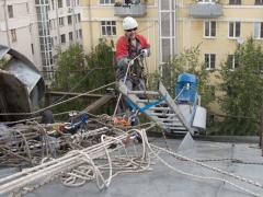 Industrial climbers of Russia