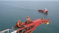 Offshore Rope Access on Crane
