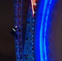 California Screamin - Rope Access on a rollercoaster