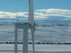 Rope Access on Wind Turbines in Wyoming USA